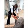 Gilet velour pour couvreurs, charpentiers
