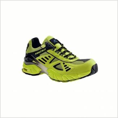 Chaussures professionnelles de sécurité basses Fly - vert fluo