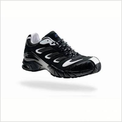 Chaussures professionnelles de sécurité basses Wing - blanc-noir