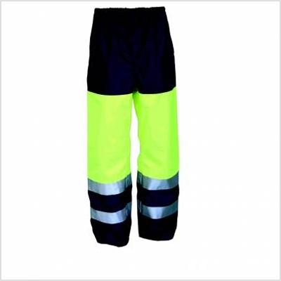 Pantalon de travail pluie imper-respirant bicolore - Soren