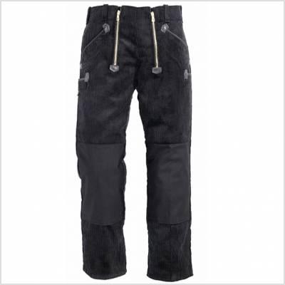 Pantalon de travail velours jonc largeot renfort Cordura FHB
