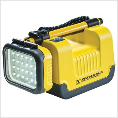 Système d'éclairage professionnel à distance PELI 9430 Infraroug