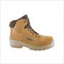 Chaussures de travail B716 CAMEL TOP S3 HRO HI CI SRC - PLATINIU
