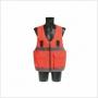 Gilet de travail haute visibilité pour harnais - EN 471/94