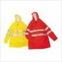 Veste professionnelle de pluie avec bandes réfléchissantes - PTU